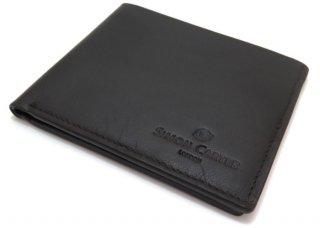 SIMON CARTER(サイモンカーター) スリムウォレット(ブラウン) (折り畳み財布) - ブランド
