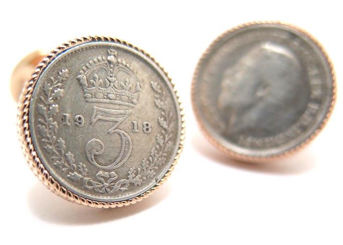 TATEOSSIAN(タテオシアン) ノベルティ スピニングコインカフス(ローズゴールド)世界限定30セット (カフスボタン/カフリンクス) - ブランドの画像