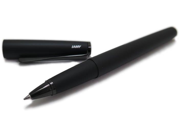 LAMY(ラミー) ステュディオ ルクス ローラーボール(オールブラック)ボールペン - ブランドの画像