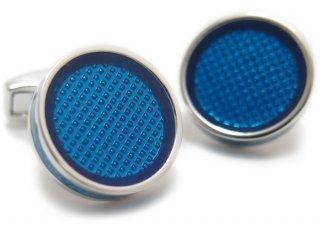 TATEOSSIAN(タテオシアン) アイスタブレットカフス(ブルー)(カフスボタン/カフリンクス) - ブランド