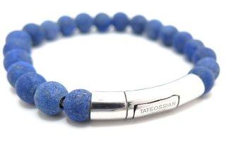 TATEOSSIAN(タテオシアン) シルバーラージポップ半輝石ブレスレット(ラピスラズリ) - ブランド