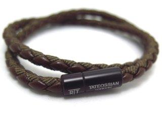 TATEOSSIAN(タテオシアン) チェルシーブレスレット(ブラウンブラック) - ブランド