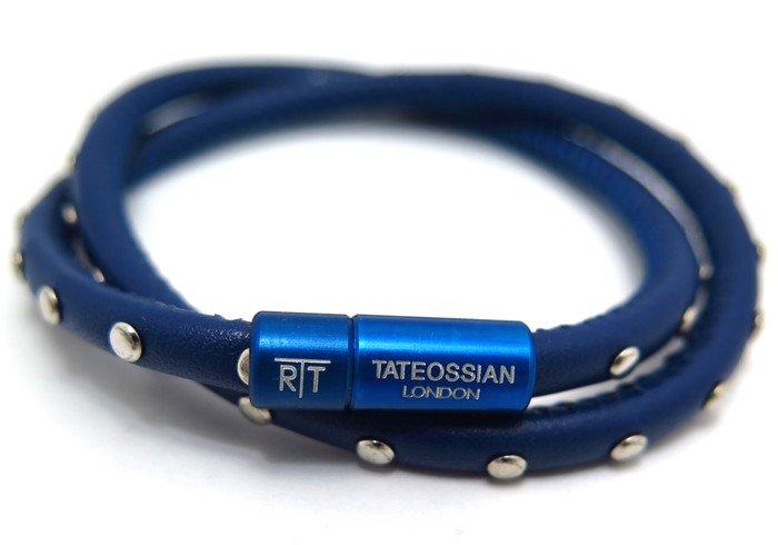 TATEOSSIAN(タテオシアン) ミニスタッドブレスレット(ブルー) - ブランドの画像