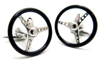 GTO STEEL(ジーティーオー スティール) ナルディトリノカフス(ブラック)(カフスボタン/カフリンクス) - ブランド