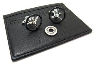 GTO STEEL(ジーティーオー スティール) ナルディトリノギフトセット(カフス+カードケース)(ブラック) - ブランド