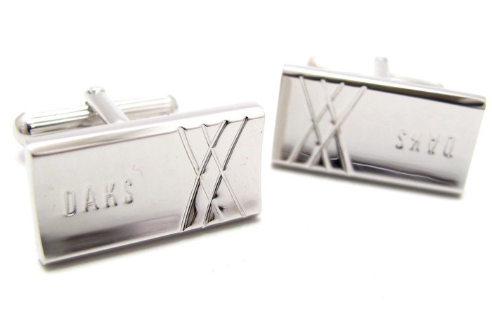 DAKS(ダックス) クロスラインズカフス(カフスボタン/カフリンクス) - ブランド