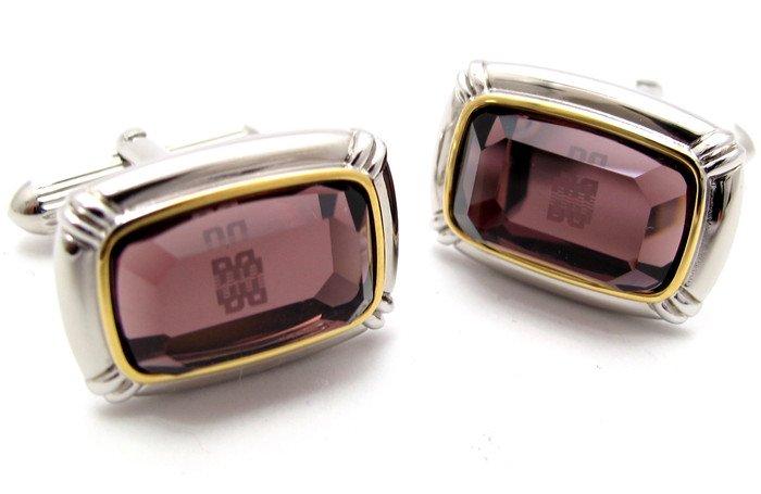 DAKS(ダックス) カットガラスレクタングルカフス(カフスボタン/カフリンクス) - ブランド