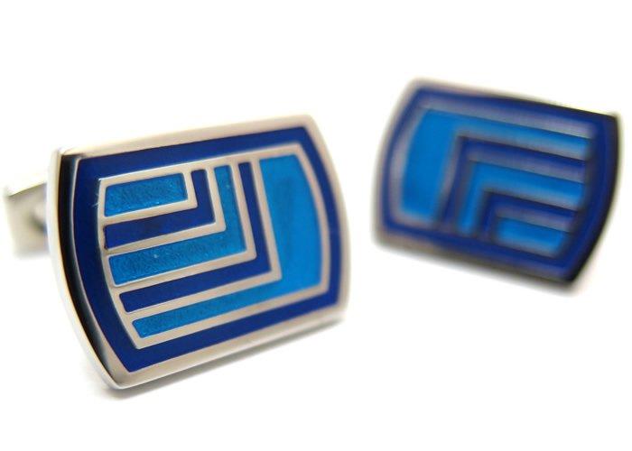 SIMON CARTER (サイモンカーター) デコロゼンジカフス(ブルー)(カフスボタン/カフリンクス) - ブランド