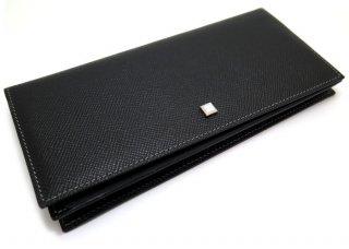 TATEOSSIAN(タテオシアン)ピッコラペレッテリアモザイクレザーロングウォレット(ブラック&グレー/白蝶貝) 長財布 - ブランド