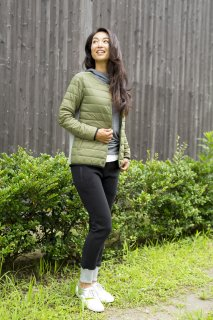 W WOOL CLOUD QUILTED JACKET