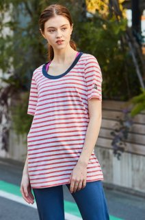 W Oversize Tee Printed