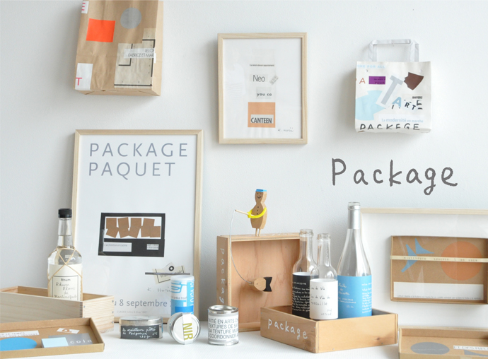 「Package」展ビジュアル