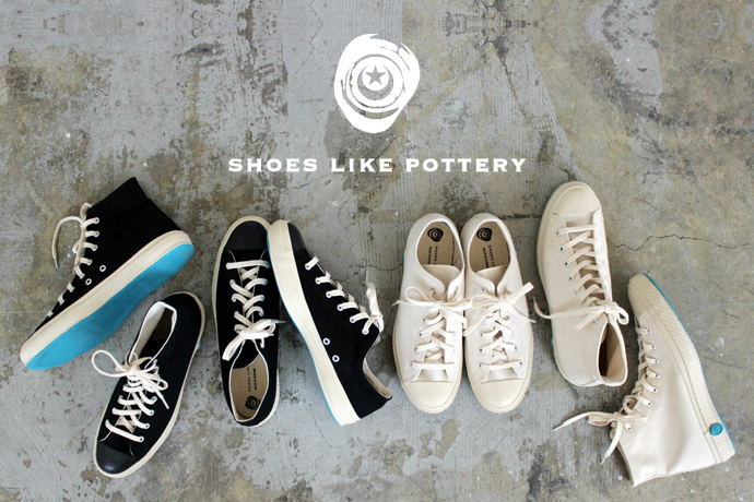「SHOES LIKE POTTERY(シューズライクポタリー)」のスニーカー