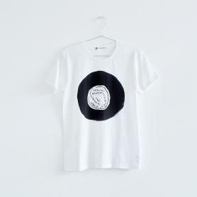 林 青那 個展「OBJET」 レコードTシャツ レディス