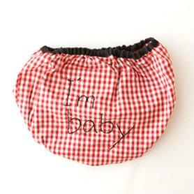 ベビーかぼちゃパンツ I'm baby 赤