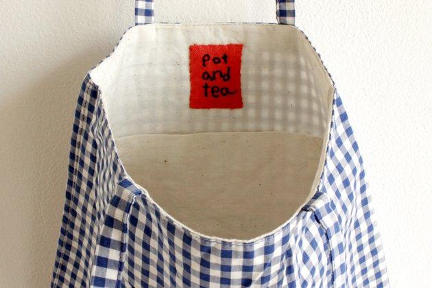 「pot and tea(ポットアンドティー)」のバッグ