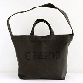 G&S DO キャンバストートバッグ チャコールグレー