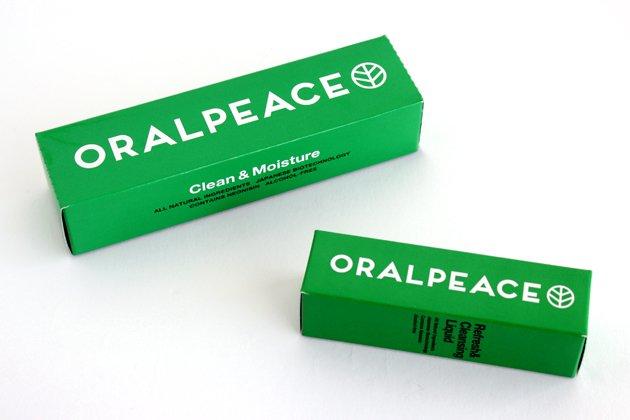 「ORALPEACE(オーラルピース)」のパッケージ