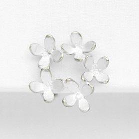 キンモクセイイヤリング 5 silver(片耳)