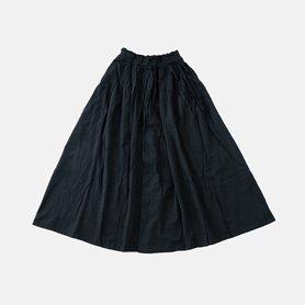 薄地ロングスカート ブラック