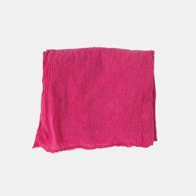 ボリュームショール ピンク