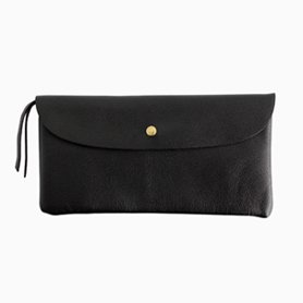 POUCH WALLET long カード収納付き ブラック
