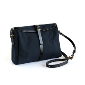 SATCHEL Indigo/Black