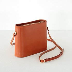 SHOULDER BAG SMALL Tan