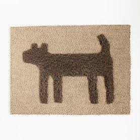 HOUSE doggy mat S ミックスブラウン
