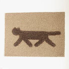 RONDO cat mat S ブラウンキャメルミックス