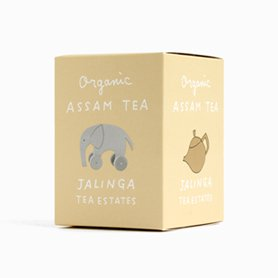 堀井和子さんデザインパッケージ ジャリンガ茶園 オーガニックアッサムティー S(ティーバッグ10個入り)
