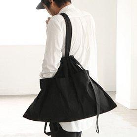 Drawstring Bag L ブラック