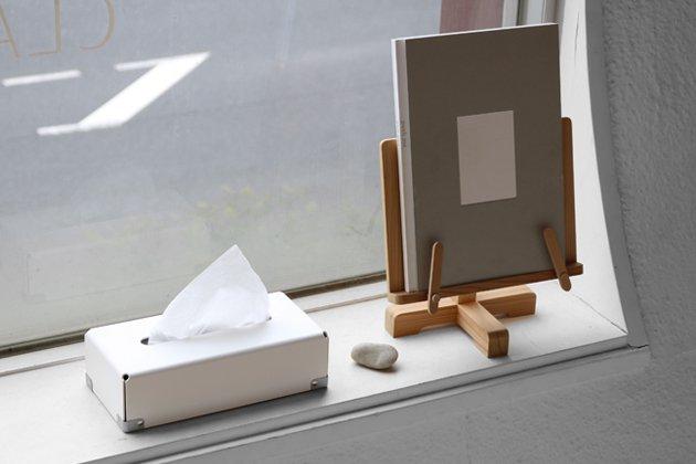 「concrete craft(コンクリート・クラフト)」のティッシュボックス 「BENT」