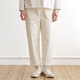 work pants アイボリー