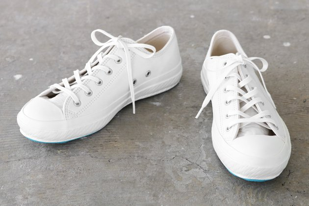 「SHOES LIKE POTTERY(シューズライクポタリー)」のスニーカー「LEATHER SHOES LIKE POTTERY」