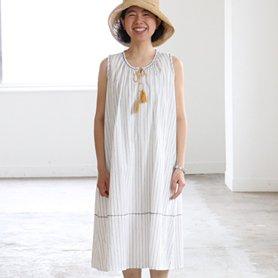 holiday room dress ホワイト[20%OFF]