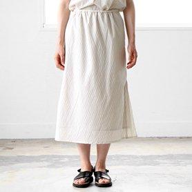マーメイドスカート クリーム