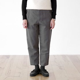 cotton wool chino pants グレー