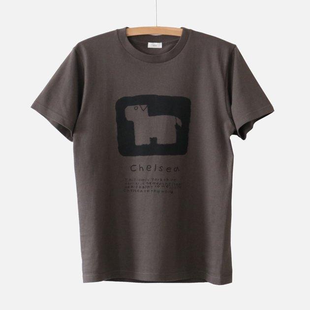 「CLASKA(クラスカ)」発のアパレルブランド「HAU(ハウ)」のヨークシャテリアをモチーフにしたTシャツ