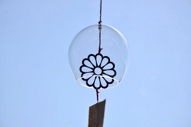 サコウユウコさんのガラスの風鈴(ハナ)