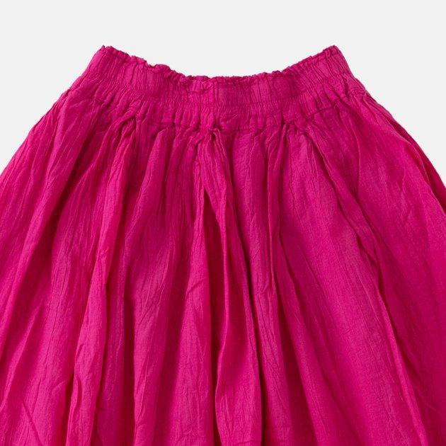 「ヂェン先生の日常着」の薄地ロングスカート