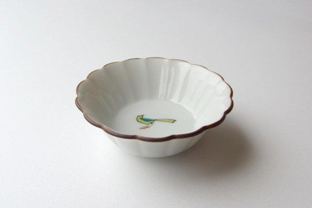 「KUTANI SEAL(クタニシール)」の小鳥の菊小鉢