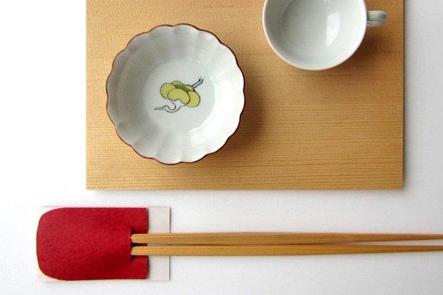 「KUTANI SEAL(クタニシール)」の梅に鶴の菊小鉢