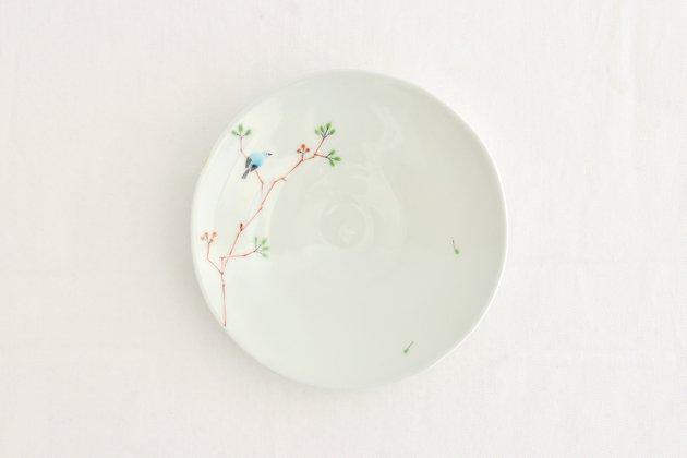 「M.Pots(エムポッツ)」の鳥のお皿5寸