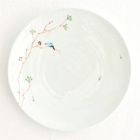 お皿7寸 鳥