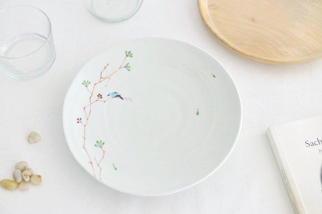 「M.Pots(エムポッツ)」の鳥のお皿7寸