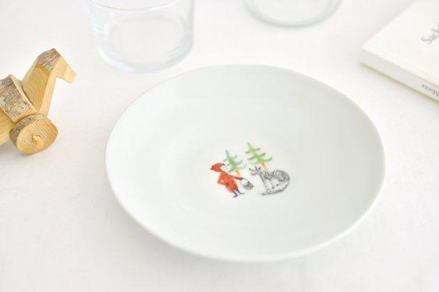 「M.Pots(エムポッツ)」の赤ずきんのお皿5寸