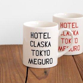 HOTEL CLASKA TOKYO マグ 黒