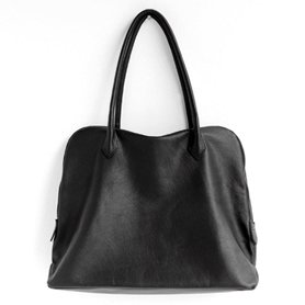 Silva Tote Bag Leather noir