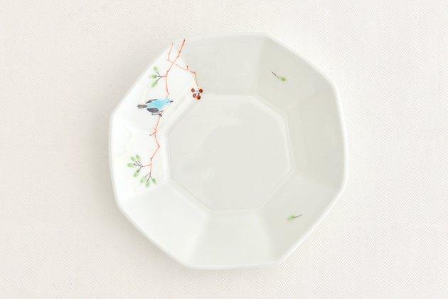 「M.Pots(エムポッツ)」の鳥の八角小皿